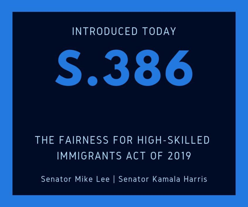 Fairness for High-Skilled Immigrants Act of 2019